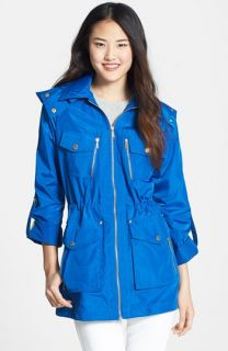 MICHAEL Michael Kors Detachable Hood Anorak (Regular & Petite)