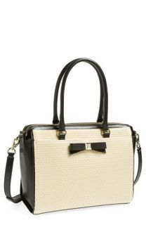 kate spade new york holly street straw   ashton satchel