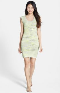 Nicole Miller Dakota Stripe Jersey Dress