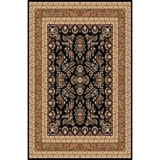 Safavieh Lyndhurst Collection Black/ Tan Rug (9' x 12') Safavieh 7x9   10x14 Rugs