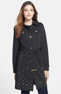 MICHAEL Michael Kors Grommet Detail Trench Coat