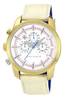 Vince Camuto Round Chronograph Watch, 46mm