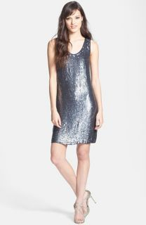 Nicole Miller Sequin Shift Dress
