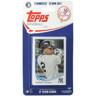 New York Yankees 2013 Team Collectible Trading Card Set