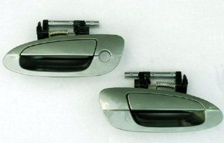 DS197 Flash Green J40 02 08 Nissan Altima Front Pair Outside Door Handle 02 03 04 05 06 07 08 Automotive