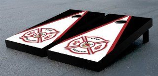 Fire Rescue Cornhole Bean Bag Game Set Toys & Games