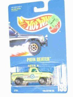 #198 Path Beater Lime Construction Wheels Collectible Collector Car Mattel Hot Wheels 164 Scale Toys & Games