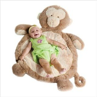 Bestever New Baby monkey mat Rug plush toy Cushion gift Toys & Games