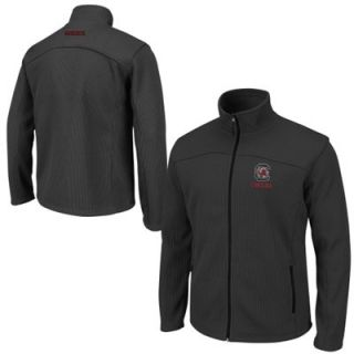 South Carolina Gamecocks Plow Full Zip Jacket   Charcoal