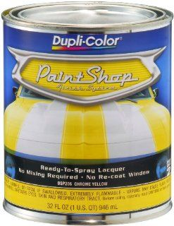 Dupli Color BSP206 Chrome Yellow Paint Shop Finish System   32 oz. Automotive