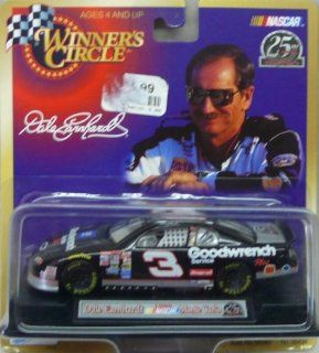 NASCAR   1999   Winner's Circle   25th Anniversary   Dale Earnhardt   No. 3 Chevy Monte Carlo   143 Scale Die Cast Replica Car Collectible Toys & Games