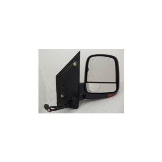 Depo 335 5429L3EFH2 Chevy Express/GMC Savana Driver Side Textured Heated Power Mirror with Turn Signal Automotive