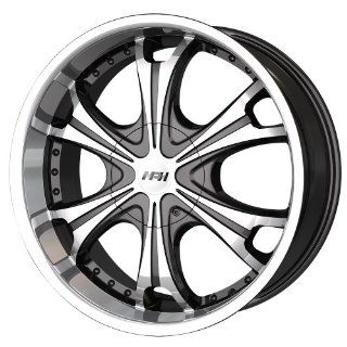 "MPW MP 209 Black Wheel with Machined Face and Lip (20x8.5""/10x120mm) Automotive"