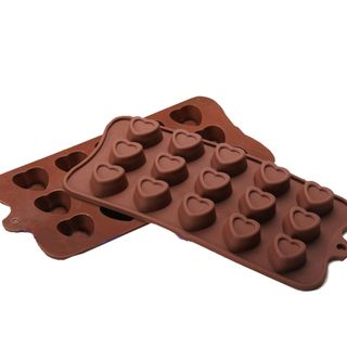 Heart Shaped Cake/ Chocolate Silicone Mold/ Baking Pans Universal Silicone Bakeware