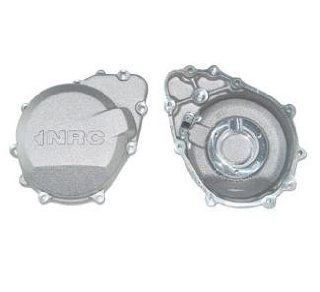 NRC Left Engine Cover for Kawasaki ZX6R 98 02 and ZZR600 (J Series) 06 08 (ZZ 4513 221) Automotive