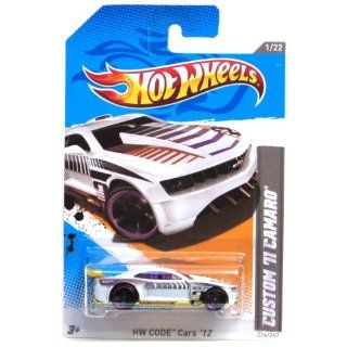2012 Hot Wheels HW Code Cars Custom '11 Camaro White #226/247 Toys & Games