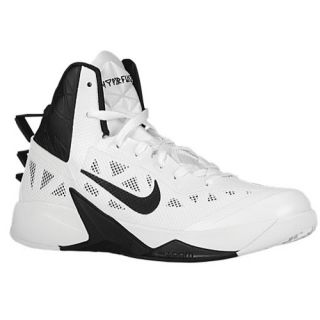 Nike Zoom Hyperfuse 2013   Mens   Basketball   Shoes   White/Black
