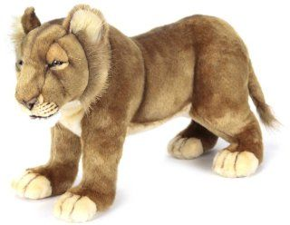 Hansa Life Size Lion Cub Stuffed Plush Animal, Standing Toys & Games