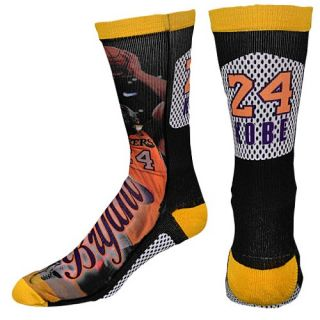 For Bare Feet NBA Sublimated Player Socks   Mens   Basketball   Accessories   Los Angeles Lakers   Bryant, Kobe   Multi