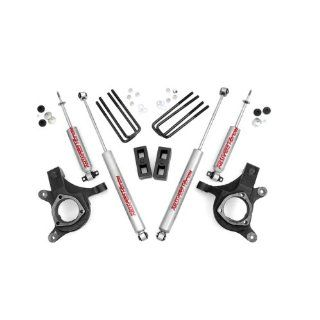 Rough Country 232N2   3 inch Suspension Leveling Lift Kit with Premium N2.0 Series Shocks Automotive