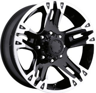 ULTRA   type 234/235 maverick   22 Inch Rim x 9.5   (8x6.5) Offset (12) Wheel Finish   black with diamond cut Automotive
