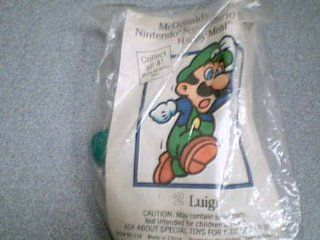 1989 Nintendo of America, Inc. McDonald's Happy Meal Toy Nintendo Super Mario Brothers Luigi Kids Meal Toy McD#89 234