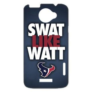 key Custombox NFL Houston Texans JJ Watt HTC ONE X Best Durable Plastic Case Cell Phones & Accessories
