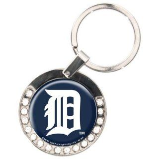 MLB Detroit Tigers Rhinestone Key Chain Sports & Outdoors