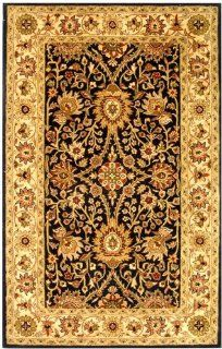 "Safavieh Antiquities At249B 7'6"" x 9'6"" Black Area Rug"