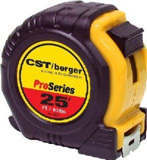 CST/berger 78 R251 MeasureMark Pro Series 25ft Pocket Tape in Feet/10ths   Tape Measures