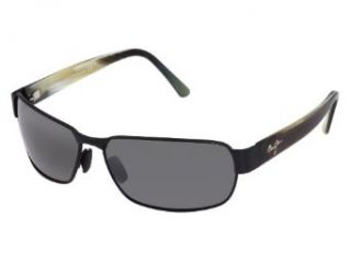 New Maui Jim Black Coral 249 2M Matte Black/Neutral Grey 65mm Polarized Sunglasses Clothing