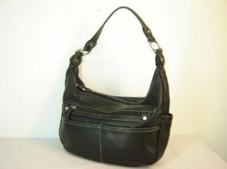 Giani Bernini Soft Leather Hobo Handbag/Purse ~ Black In Color Clothing