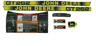 John Deere Original Equipment Label Kit #AM117528 Patio, Lawn & Garden
