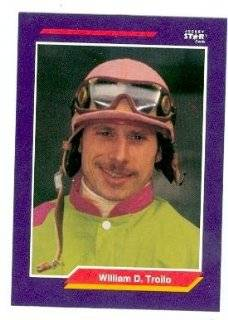 William D. Troilo trading card (Horse Racing) 1992 Jockey Star #262 Collectibles & Fine Art