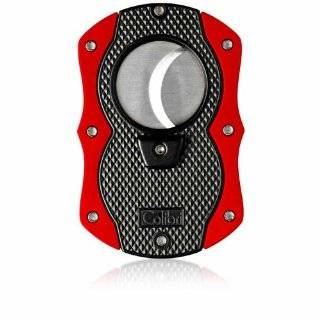 Colibri Monza Cut Black and Red Cigar Cutter Sports & Outdoors