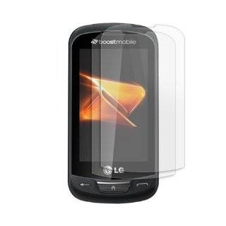 LG Rumor Reflex LN272 Clear Screen Guard Protector (Twin pack) Cell Phones & Accessories