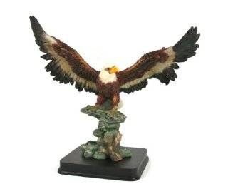 American Bald Eagle Statue Figurine   10 Inch   American Bald Eagle Sculpture
