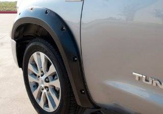 Toyota Tundra Prestige Rivet Style Smooth Fender Flares (2007 2013) Automotive