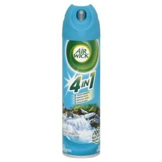 Air Wick Aerosol Spray Air Freshener, Fresh Waters, 8 Ounce (Pack of 12) Health & Personal Care