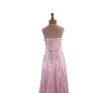 Strapless Beaded Ball Gown Prom Dress (277) Clothing