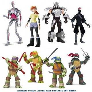 Teenage Mutant Ninja Turtles Basic Figures Wave 1 Case Toys & Games