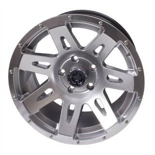 "Rugged Ridge Jeep Wrangler JK Hyper Silver Wheel   (17""x9""/5x5"") Automotive"