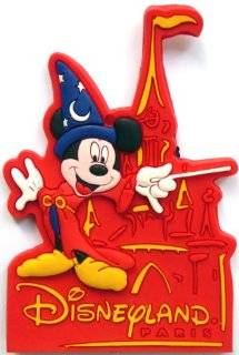 Mickey Mouse ~ Disneyland Paris ~ Fridge Magnet ~ Refrigerator Magnet ~ sorcerer Mickey