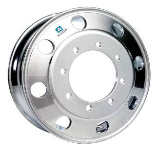 "19.5"" X 6.75"" Hub Piloted Alcoa Aluminum Wheel, 8 275mm Bolt Circle (Polished Outside Wheel) Automotive"