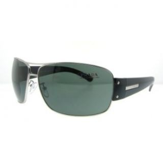 AUTHENTIC PRADA SPR61G SPR 61G 1AP 301 GUNMETAL BLACK/GRAY LENS SUNGLASSES SHADES Clothing