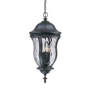Savoy House Lighting KP 5 303 ES 40 Monticello Collection 36.25 inch Outdoor Energy Star Wall Mount Lantern, Walnut Patina Finish with Tuscan Glass