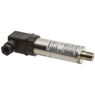 "Ashcroft Type A4 304 Stainless Steel Case Basic Intrinsically Safe Pressure Transducer, 0.50% Accuracy,  20�C to +85�C Temperature Range, 1/4"" NPT Male Connection, 4 20mA Output Signal, With Mate, No Cable, 0/30 psi Pressure Range Industrial & Sc"