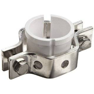 Dixon B24PS G Series Stainless Steel 304 Sanitary Fitting, Hex Tube Hanger with Sleeve, Tube OD