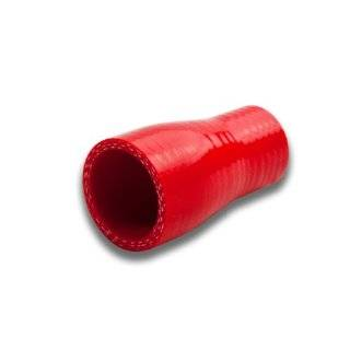 "DPT, SH 1 15 RD, 1"" to 1.5"" Straight Transition Reducer 3 Ply 4mm Thickness High Temperature Performance Red Silicone Hose Coupler Connector for Turbo Exhaust Intake Intercooler Automotive"