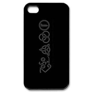 Custom Led Zeppelin Cover Case for iPhone 4 4s LS4 2588 Cell Phones & Accessories